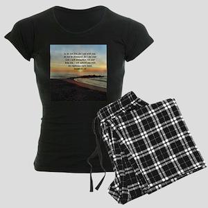 ISAIAH 41:10 Women's Dark Pajamas