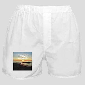 ISAIAH 41:10 Boxer Shorts