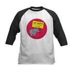NO NUTS (or traces) Kids Baseball Jersey