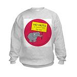 NO NUTS (or traces) Kids Sweatshirt