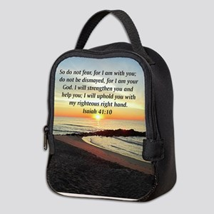 ISAIAH 41:10 Neoprene Lunch Bag