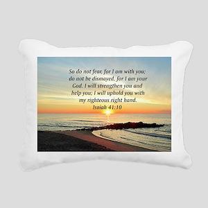 ISAIAH 41:10 Rectangular Canvas Pillow