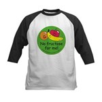 No fructose for me! Kids Baseball Jersey