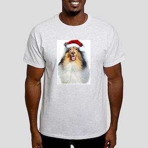 Santa Collie Light T-Shirt