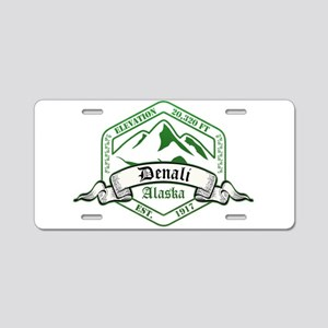 Denali National Park, Alaska Aluminum License Plat