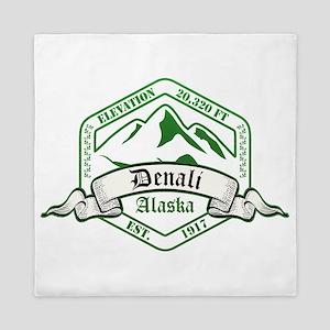 Denali National Park, Alaska Queen Duvet