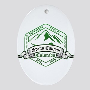 Grand Canyon National Park, Colorado Ornament (Ova