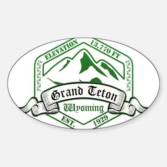 Grand Teton National Park, Wyoming Decal