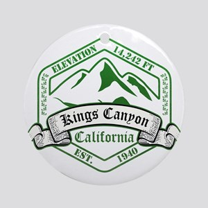 Kings Canyon National Park, California Ornament (R