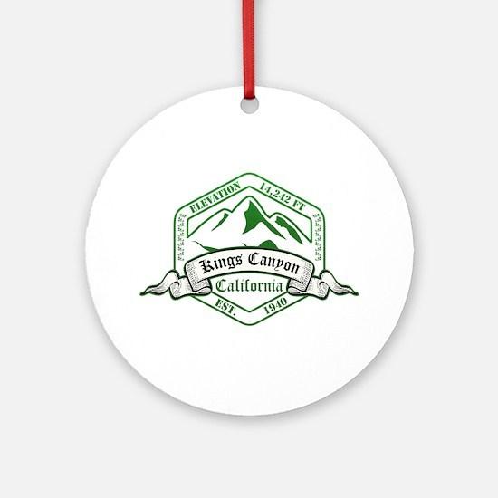 Kings Canyon National Park, California Ornament (R