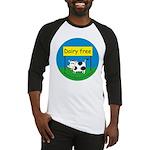 Dairy free-allergy alert Baseball Jersey