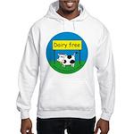 Dairy free-allergy alert Hooded Sweatshirt
