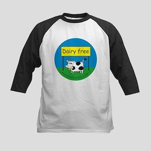 Dairy free-allergy alert Kids Baseball Jersey
