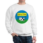 Dairy free-allergy alert Sweatshirt