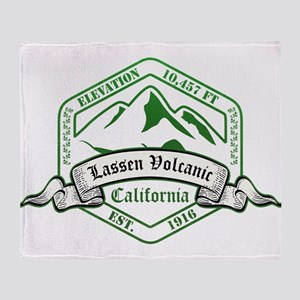 Lassen Volcanic National Park, California Throw Bl