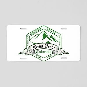 Mesa Verde National Park, Colorado Aluminum Licens