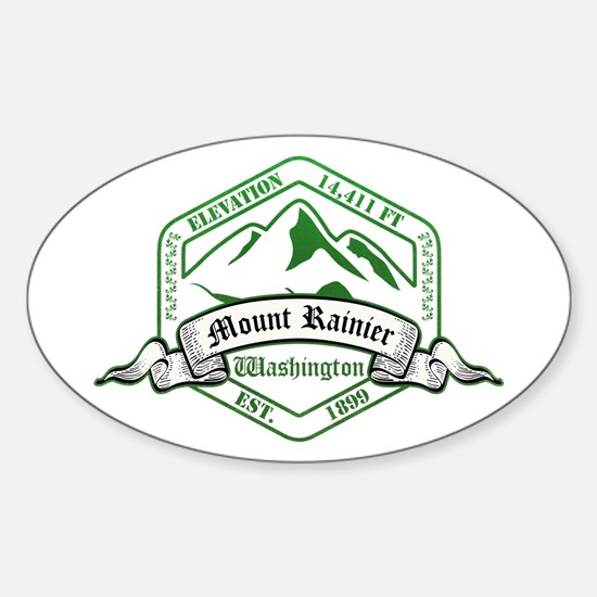 Mount Rainier National Park, Washington Decal