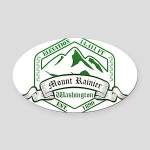 Mount Rainier National Park, Washington Oval Car M