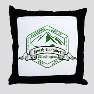 North Cascades National Park, Washington Throw Pil