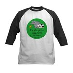 Eggs, nuts and dairy Kids Baseball Jersey
