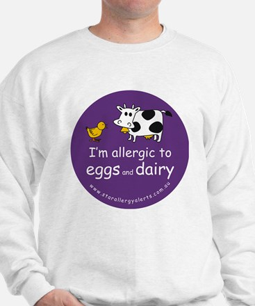 eggs and dairy Sweatshirt