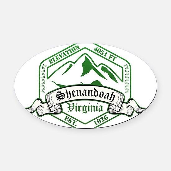 Shenandoah National Park, Virginia Oval Car Magnet