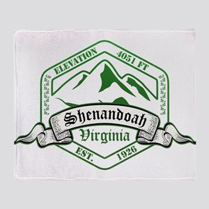 Shenandoah National Park, Virginia Throw Blanket