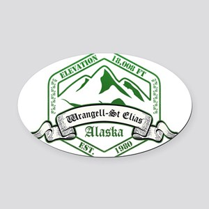 Wrangell–St. Elias National Park, Alaska Oval Car