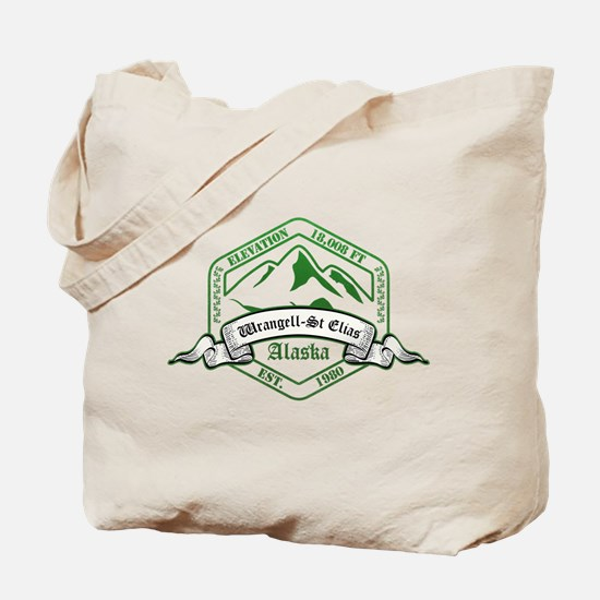 Wrangell–St. Elias National Park, Alaska Tote Bag