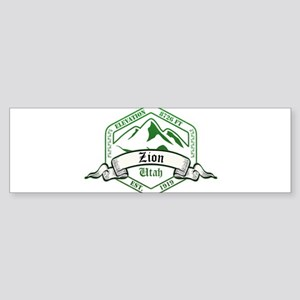 Zion National Park, Utah Bumper Sticker