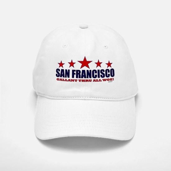 San Francisco Gallant Thru All Woe Baseball Baseball Cap