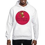 Nuts and sesame-allergy alert Hooded Sweatshirt
