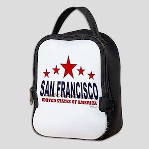 San Francisco U.S.A. Neoprene Lunch Bag