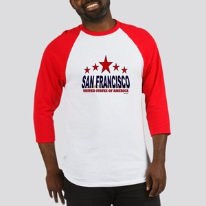 San Francisco U.S.A. Baseball Jersey