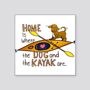 HOMEkayakDOG Sticker