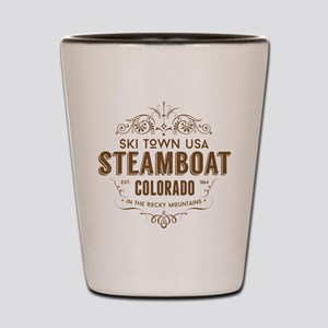 Steamboat Victorian Shot Glass
