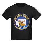 USS HENRY M. JACKSON Kids Dark T-Shirt