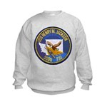 USS HENRY M. JACKSON Kids Sweatshirt
