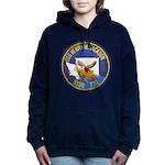 USS HENRY M. JACKSON Women's Hooded Sweatshirt