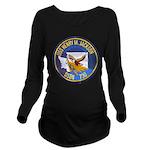 USS HENRY M. JACKSON Long Sleeve Maternity T-Shirt