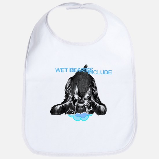 giant schnauzer wet beard included Bib