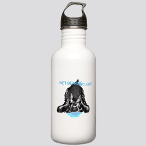 giant schnauzer wet be Stainless Water Bottle 1.0L