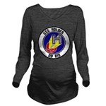 USS HOLDER Long Sleeve Maternity T-Shirt