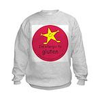 allergic to gluten Kids Sweatshirt