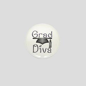 Grad Diva Mini Button