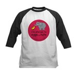 Eggs and nuts-red Kids Baseball Jersey