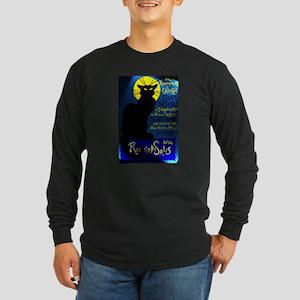 Cabaret du Chat Noir Long Sleeve Dark T-Shirt