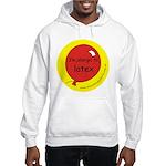 I'm allergic to latex Hooded Sweatshirt
