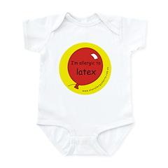 I'm allergic to latex Infant Bodysuit