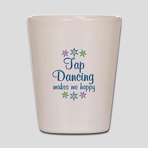 Tap Dancing Happy Shot Glass